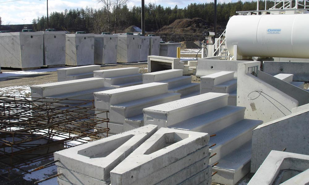 Precast Concrete Steps & Stairs in BC, Kelowna & the Okanagan
