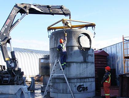 Ongekend Kon Kast a Manufacturer, Wholesaler & Retailer of Precast Concrete OC-12